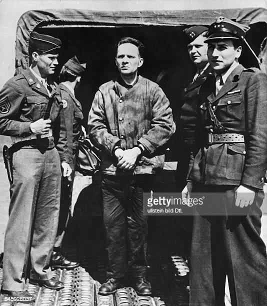 Extradition of German officers andformer Nazi officials by theInternational Military Tribunal to thePolish authorities Rudolf Hoess1940 1943...