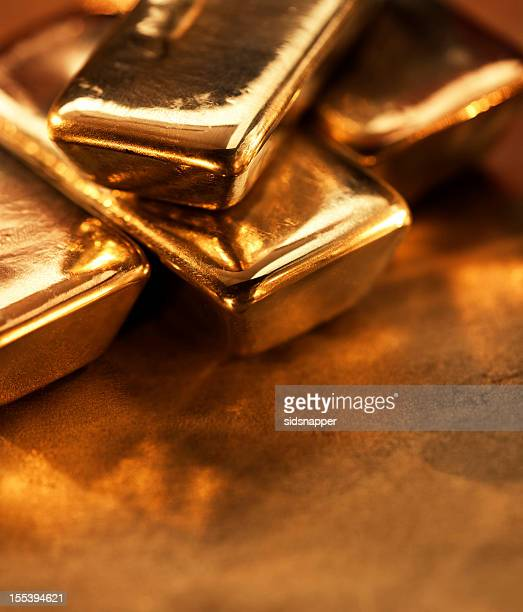 Extremo close-up de ouro ingots.jpg
