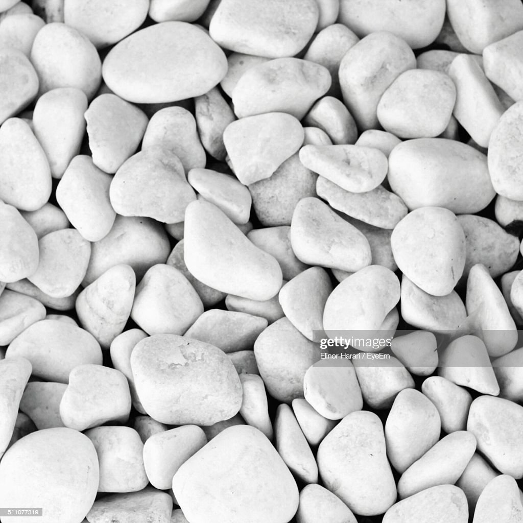 Extreme close up of pebbles : Stock Photo