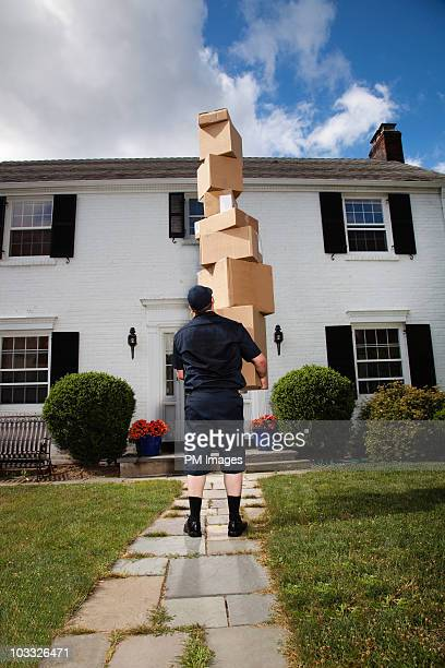 Extreme delivery man