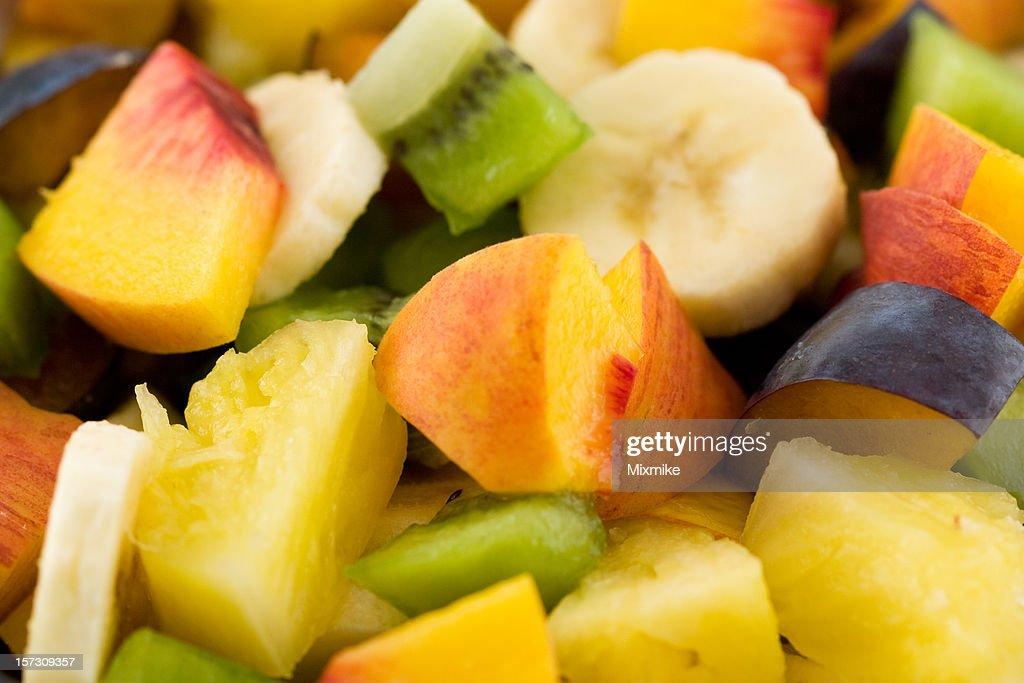 extreme fresh fruit salad : Stock Photo