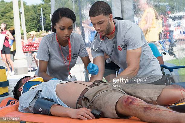 MED 'Extreme Measures' Episode 205 Pictured Yaya DaCosta as April Sexton Roland Buck III as Noah Sexton