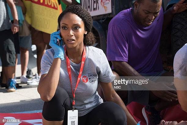 MED 'Extreme Measures' Episode 205 Pictured Yaya DaCosta as April Sexton