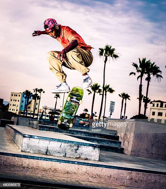 Extreme skateboarding