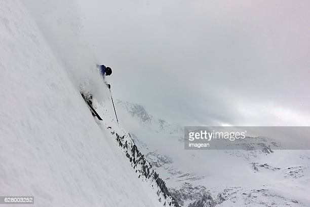 Extreme Skiing in St Anton, Austria