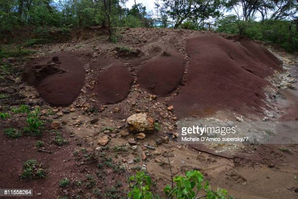 Extreme soil erosion in the Kerio Valley floor