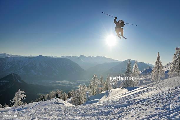 Extremsport Freestyle Ski Jump Panorama