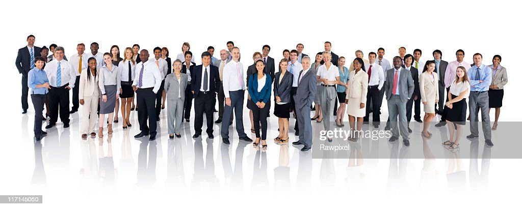 Extreemely diverse group of International Business People