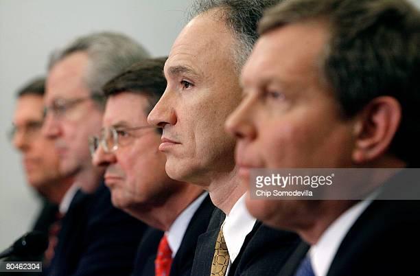 Exxon Mobil Corporation Senior Vice President Stephen Simon Shell Oil Company President John Hofmeister Cheveron Vice Chairman Peter Robertson...