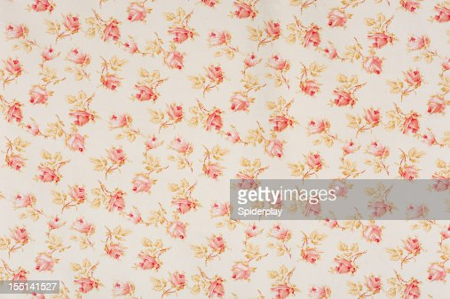 Eydies Rose Drop Floral Antique Fabric
