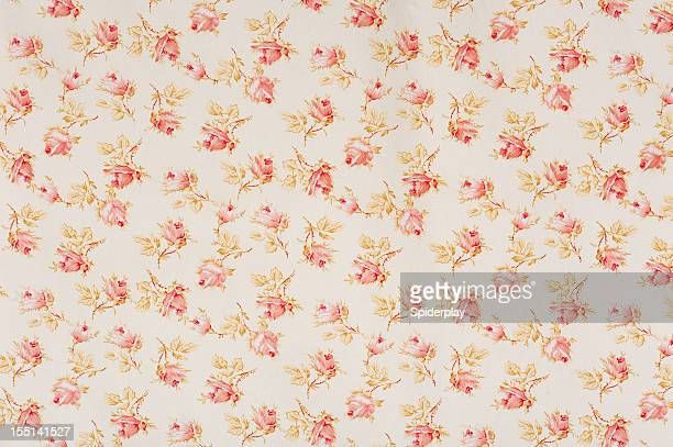 Eydies Rose Drop Floral Antique Fabric