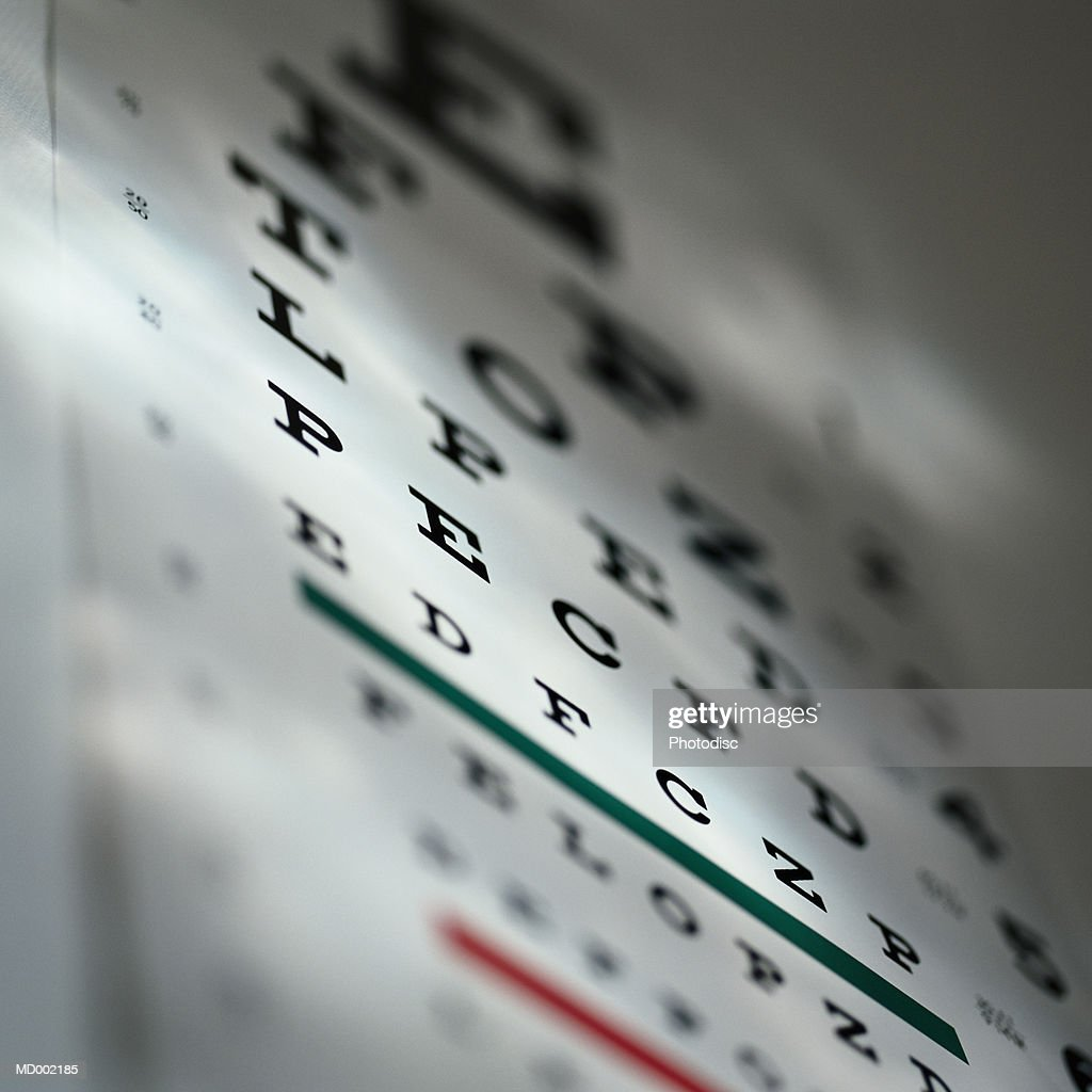 Eye Chart : Stock Photo