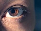 Eye close-up
