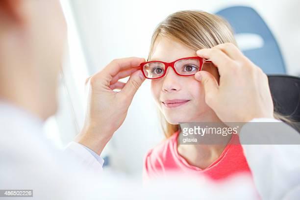 視力検査ます。