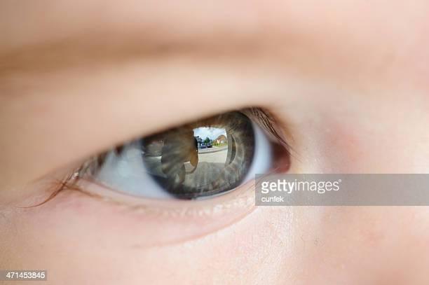 Macro di occhio