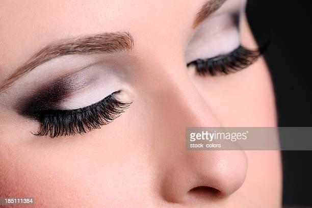 eye make-up macro