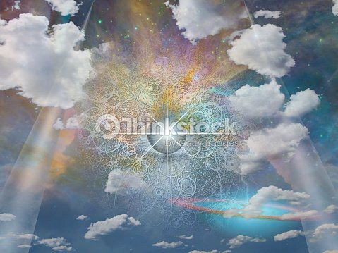 Eye of God : Stock Photo
