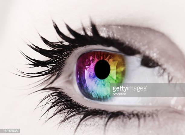 CMYK Eye