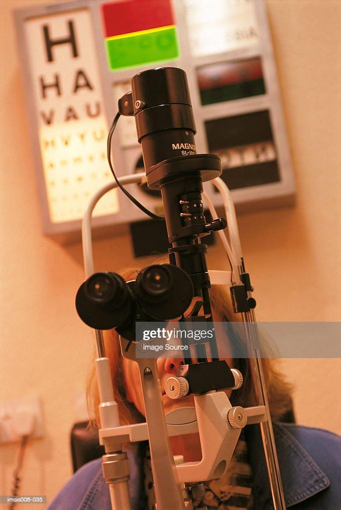 Eye test : Stock Photo