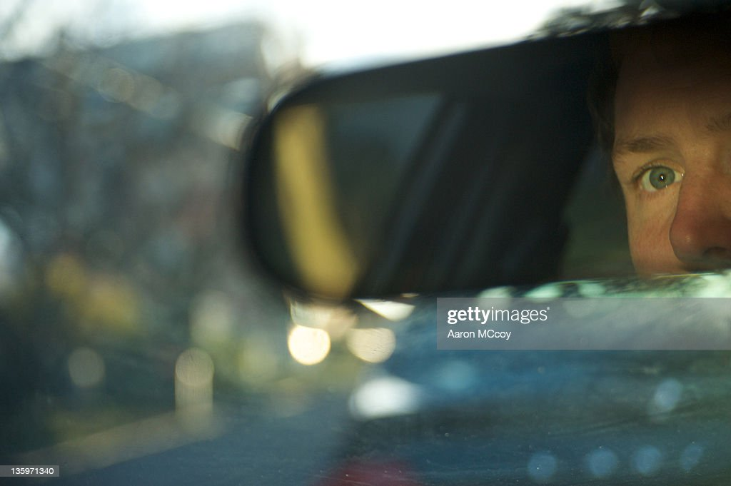 Eye to the road : Stock Photo