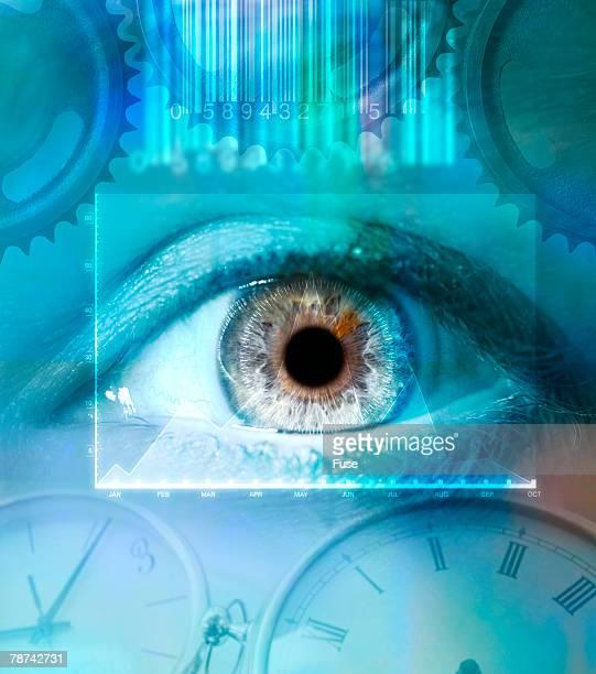 Eye with Clocks