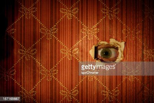 眼球をお探しの壁