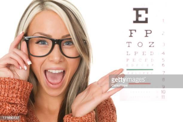 eyeglasses exam