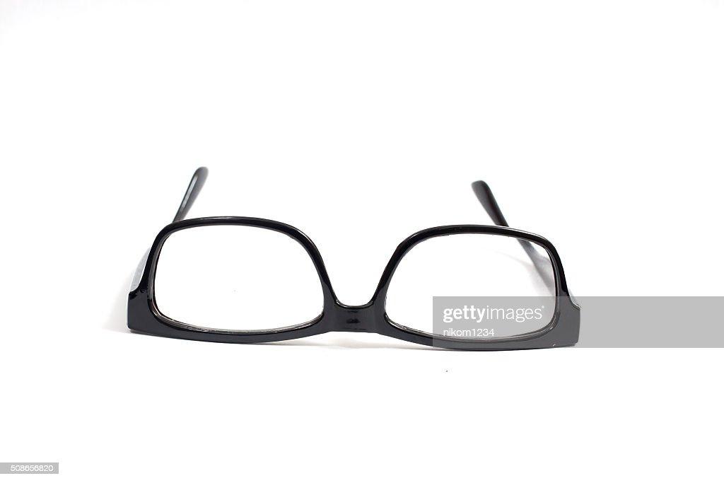 Eyeglasses isolated on white. : Stock Photo