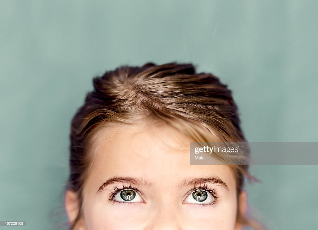 eyes of a girl
