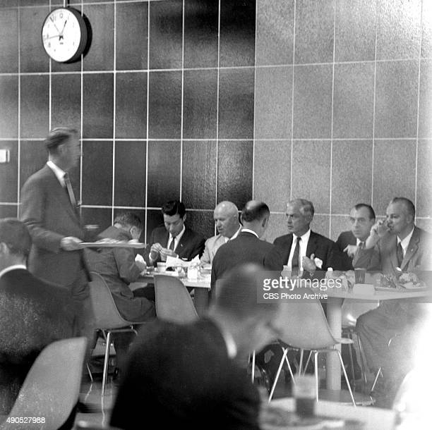 Eyewitness to History Soviet Premier Nikita Khrushchev at IBM plant in San Jose California To the right of Khrushchev is IBM chairman Thomas Watson...
