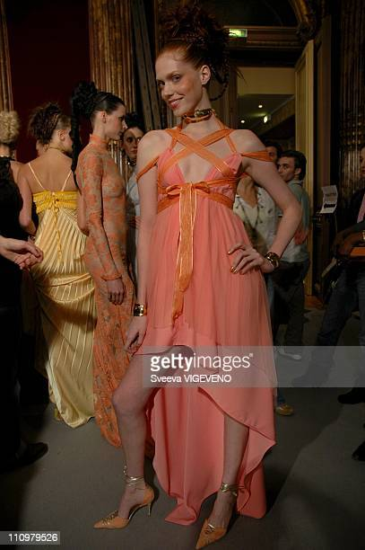 Eymeric Francois Haute Couture SpringSummer 2005 in Paris France on January 27th 2005