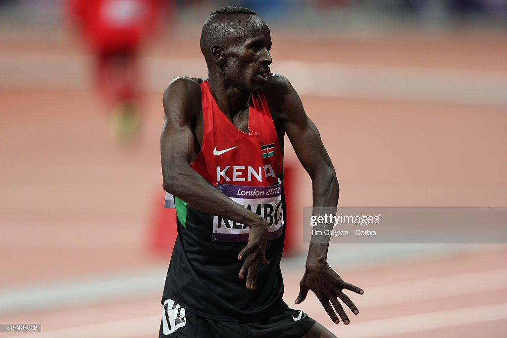Ezekiel kemboi getty images for Steeple chase