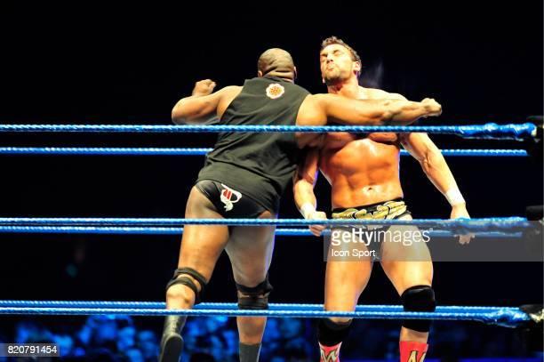 Ezequiel Jackson / Chris Masters Battle Royal Wrestlemania Revenge Tour Halle Tony GarnierLyon