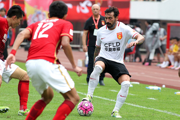 Guangzhou Evergrande v Hebei China Fortune - CSL Chinese Football Association Super League Round 9 : News Photo