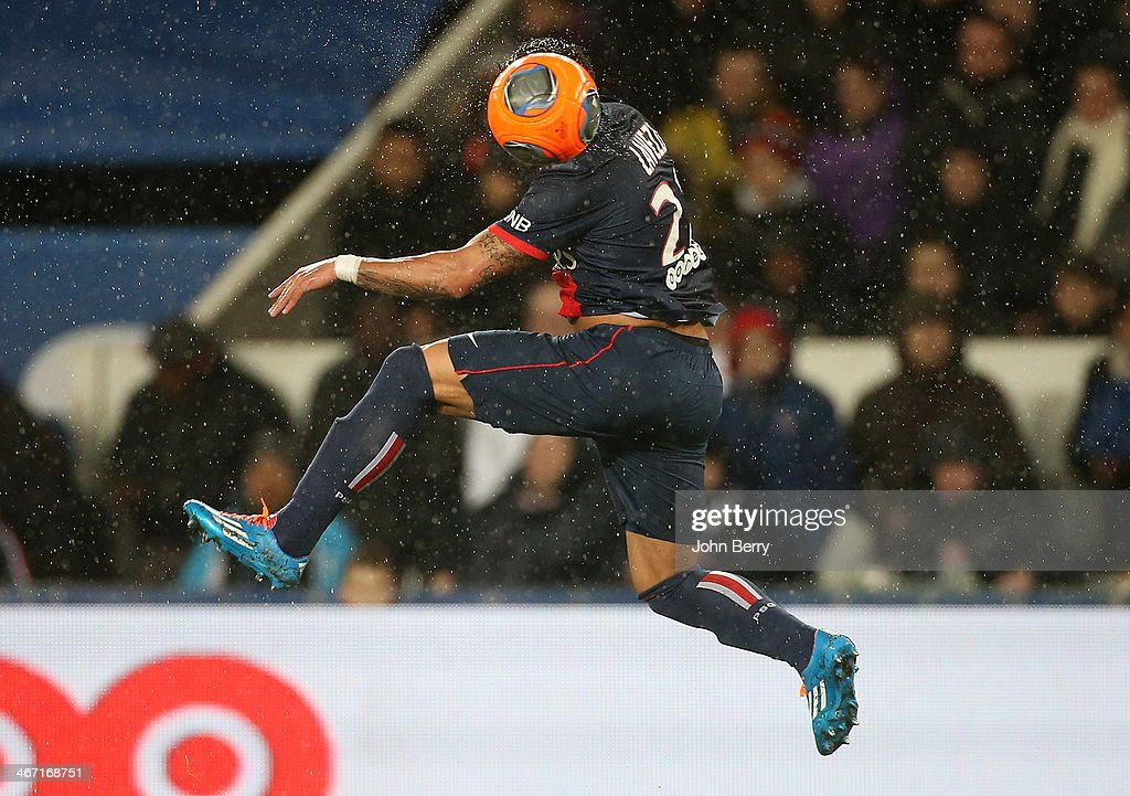 <a gi-track='captionPersonalityLinkClicked' href=/galleries/search?phrase=Ezequiel+Lavezzi&family=editorial&specificpeople=5451126 ng-click='$event.stopPropagation()'>Ezequiel Lavezzi</a> of PSG in action during the Ligue 1 match between Paris Saint-Germain FC and FC Girondins de Bordeaux at the Parc des Princes stadium on January 31, 2014 in Paris, France.