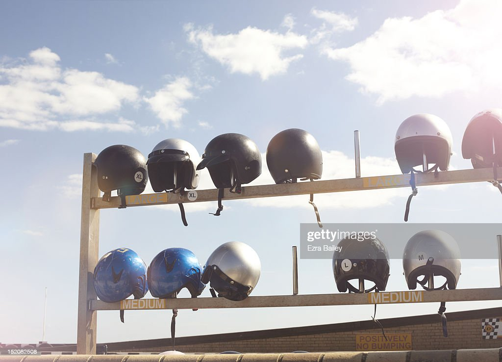 Crash helmets : Stock Photo