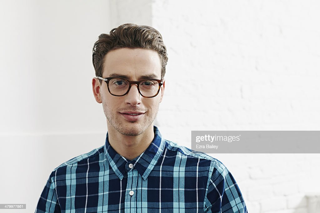 Portrait of a young creative man. : Stock Photo
