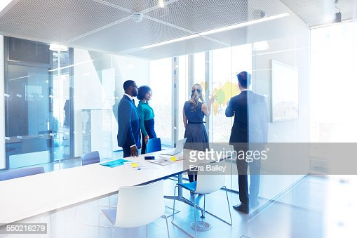 Business people in planning meeting