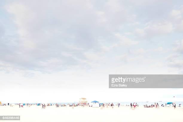 Landscape shot of Miami Beach
