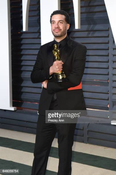 Ezra Edelman attends the 2017 Vanity Fair Oscar Party hosted by Graydon Carter at Wallis Annenberg Center for the Performing Arts on February 26 2017...