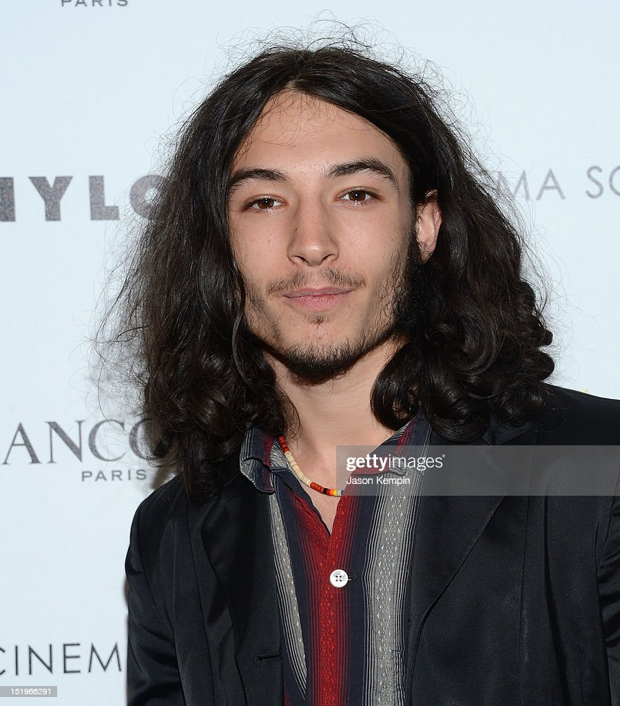 <a gi-track='captionPersonalityLinkClicked' href=/galleries/search?phrase=Ezra+Miller&family=editorial&specificpeople=5348897 ng-click='$event.stopPropagation()'>Ezra Miller</a> attends The Cinema Society with Lancome & Nylon screening of 'The Perks of Being a Wallflower' at the Crosby Street Hotel on September 13, 2012 in New York City.