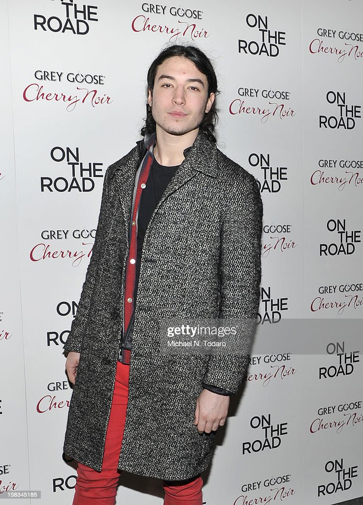 Ezra Miller attends the 'On The Road' premiere at SVA Theater on December 13, 2012 in New York City.