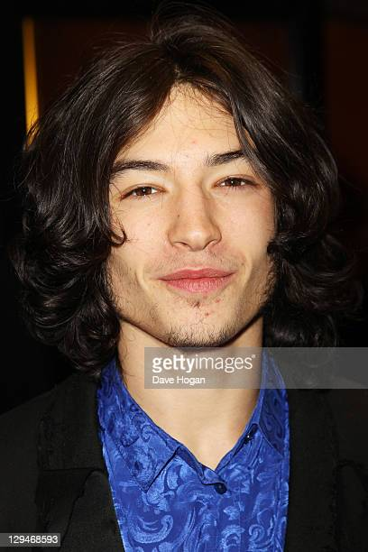 Ezra Miller attends the premiere of 'We Need To Talk About Kevin' at the The 55th BFI London Film Festival at The Curzon Mayfair on October 17 2011...