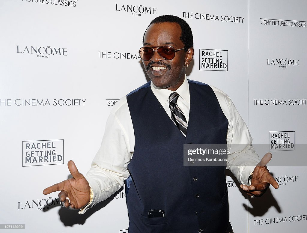 Fab Five Freddy attends the Cinema Society and Lancome screening of 'Rachel Getting Married' at the Landmark Sunshine Theater on September 25, 2008 in New York City.