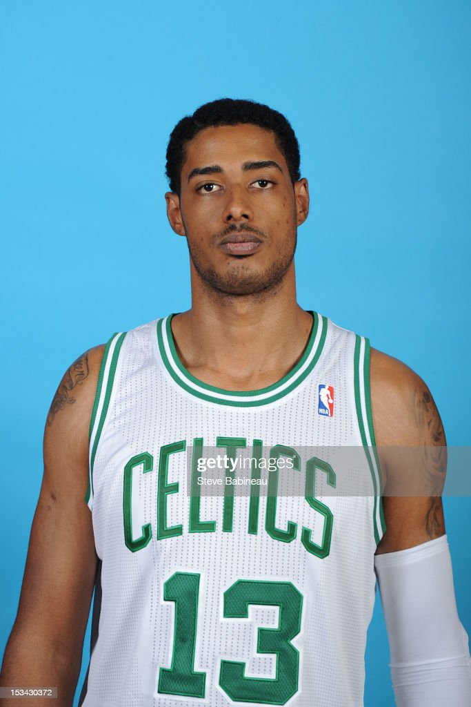 <a gi-track='captionPersonalityLinkClicked' href=/galleries/search?phrase=Fab+Melo&family=editorial&specificpeople=7366439 ng-click='$event.stopPropagation()'>Fab Melo</a> #13 of the Boston Celtics poses for a portrait during Media Day on September 28, 2012 at the Boston Sports Club in Waltham, Massachusetts.