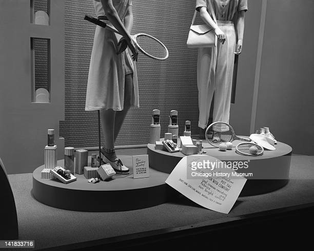 Faberge Perfume Display at Marshall Field Company Chicago Illinois May 12 1941