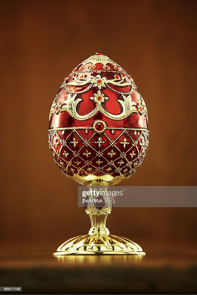 faberge style egg stock photo getty images. Black Bedroom Furniture Sets. Home Design Ideas