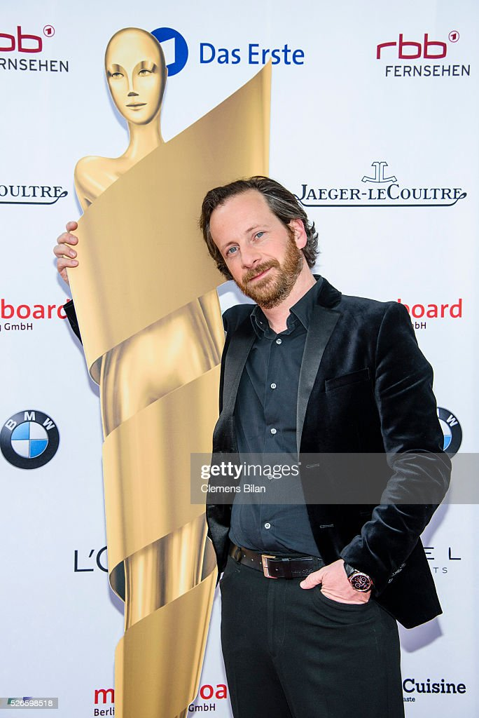 <a gi-track='captionPersonalityLinkClicked' href=/galleries/search?phrase=Fabian+Busch&family=editorial&specificpeople=636034 ng-click='$event.stopPropagation()'>Fabian Busch</a> attends the nominee dinner for the German Film Award 2015 Lola (Deutscher Filmpreis) on April 30, 2016 in Berlin, Germany.