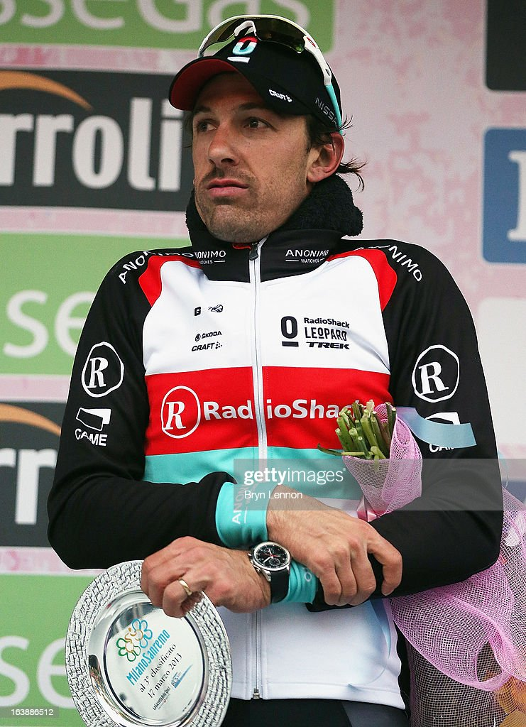 <a gi-track='captionPersonalityLinkClicked' href=/galleries/search?phrase=Fabian+Cancellara&family=editorial&specificpeople=573515 ng-click='$event.stopPropagation()'>Fabian Cancellara</a> of Switzerland and Radioshack Nissan finished 3rd during the 2013 Milan - San Remo on March 17, 2013 in San Remo, Italy.