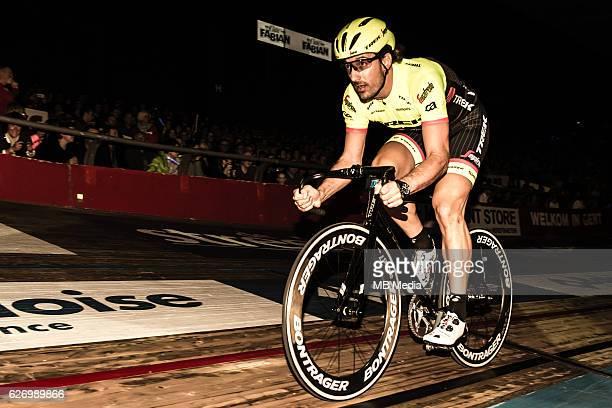 Fabian Cancellara pictured during 'Ciao Fabian' An event to honour Fabian Cancellara's carreer In Kuipke Gent Belgium on Saturday november 12 2016